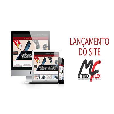 Lançamento do novo site da MAXX FLEX